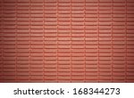red brick wall background | Shutterstock . vector #168344273