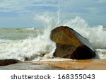 Wave On The Rocks