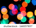 color photo of blurred electric ... | Shutterstock . vector #168357857