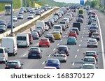 Traffic Jam On German Highway....