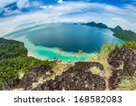 islands of view of a hill | Shutterstock . vector #168582083