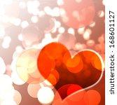 valentine background | Shutterstock . vector #168601127