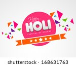 indian color festival holi...