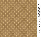 brown geometric seamless... | Shutterstock .eps vector #168638813