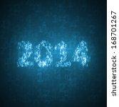 new year celebration...   Shutterstock . vector #168701267