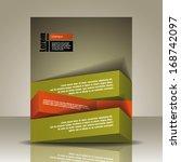 vector  brochure  flyer ... | Shutterstock .eps vector #168742097