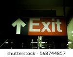Exit Subway  Sigh