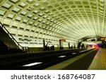 Washington Dc  Metro Station...