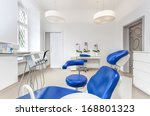 interior of a dentist room and... | Shutterstock . vector #168801323