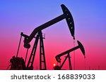 oil drilling rig  tanghai... | Shutterstock . vector #168839033