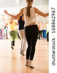 dance class for women at... | Shutterstock . vector #168862967