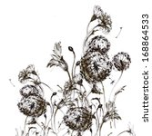 Sketch Of The Wildflowers