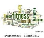 vector concept or conceptual... | Shutterstock .eps vector #168868517