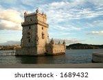 tower of belem | Shutterstock . vector #1689432