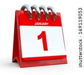 1 January Calendar... January...
