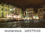 Panoramic View Of Piazza Santa...