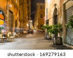 old street in rome  italy | Shutterstock . vector #169279163