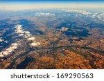 Aerial View On Frankfurt ...