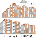 modern buildings in vector. 2... | Shutterstock .eps vector #169400387