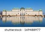 upper belvedere palace  vienna  ... | Shutterstock . vector #169488977