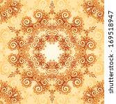 ornate vintage vector... | Shutterstock .eps vector #169518947