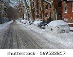 Streets In Brooklyn Is Seen...