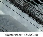 High Modern Skyscraper On A...
