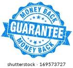 money back guarantee grunge...