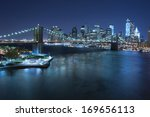 new york city   october 27 ... | Shutterstock . vector #169656113