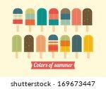 Ice Cream Ice Lolly Vector...