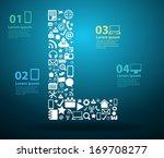 application icons alphabet...   Shutterstock .eps vector #169708277