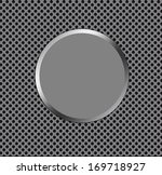 blank push button isolated on a ... | Shutterstock . vector #169718927