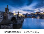 The Charles Bridge In Prague ...