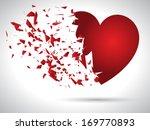exploding heart background for... | Shutterstock .eps vector #169770893