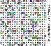 patchwork cover with different... | Shutterstock .eps vector #169798583