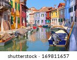 Colorful Houses By The Water...