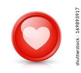 vector red button  web element  ... | Shutterstock .eps vector #169893917