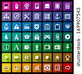 collection of 49 flat icons   3