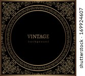 Vintage Gold Background  Vecto...