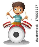 alone,background,beat,boy,cartoon,child,circle,clip-art,clipart,drawing,drum,drummer,entertainment,gentleman,graphic