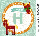 Abc Animals H  Is Horse....