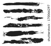 grunge brushes set 4 | Shutterstock . vector #170066297