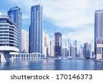 dubai  | Shutterstock . vector #170146373