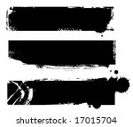 grungy banners ready for your... | Shutterstock .eps vector #17015704