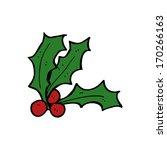 cartoon holly | Shutterstock .eps vector #170266163