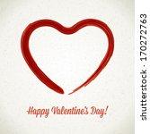 hand drawn heart shape. vector...
