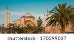 hagia sophia in istanbul turkey   Shutterstock . vector #170299037