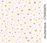valentine day seamless pattern | Shutterstock .eps vector #170303693