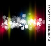 blurred bokeh abstract colorful ... | Shutterstock . vector #170319713