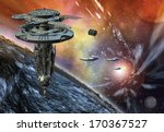 ������, ������: Alien Planet and Spaceships